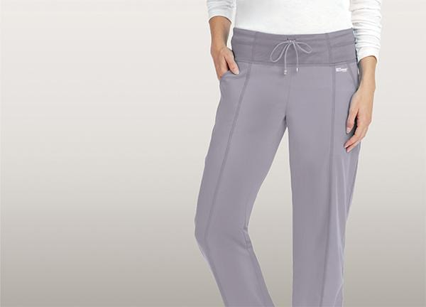 Greys Anatomy Active Women's 4 Pocket Low Rise Wide Waist Pant - 4276X - ScrubHaven