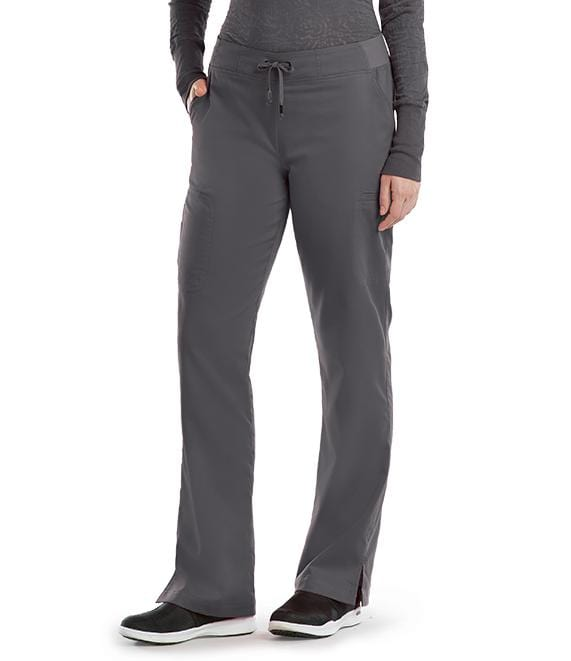 Greys Anatomy Women's 6 Pocket Tie Front Pant - 4277T Tall - ScrubHaven