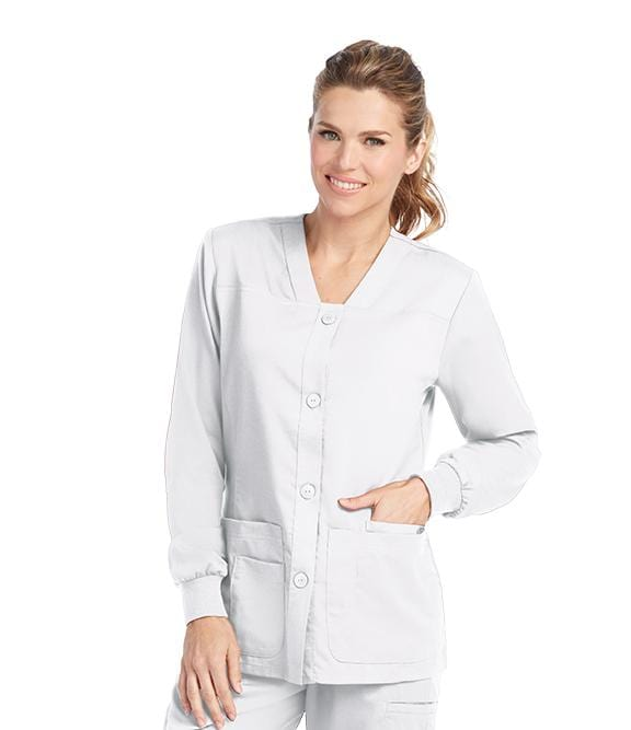 Greys Anatomy Women's 4 Pocket Sporty Warmup - 4435X - ScrubHaven