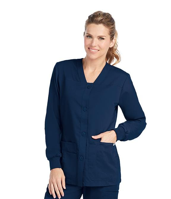 Greys Anatomy Women's 4 Pocket Sporty Warmup - 4435 - ScrubHaven
