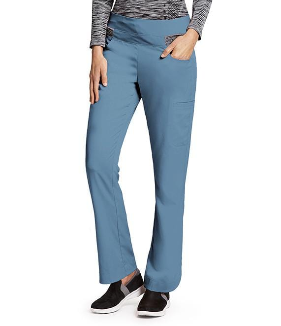 Greys Anatomy Impact Women's 4 Pocket Space Dye Double Cargo Pant - 7227 - ScrubHaven