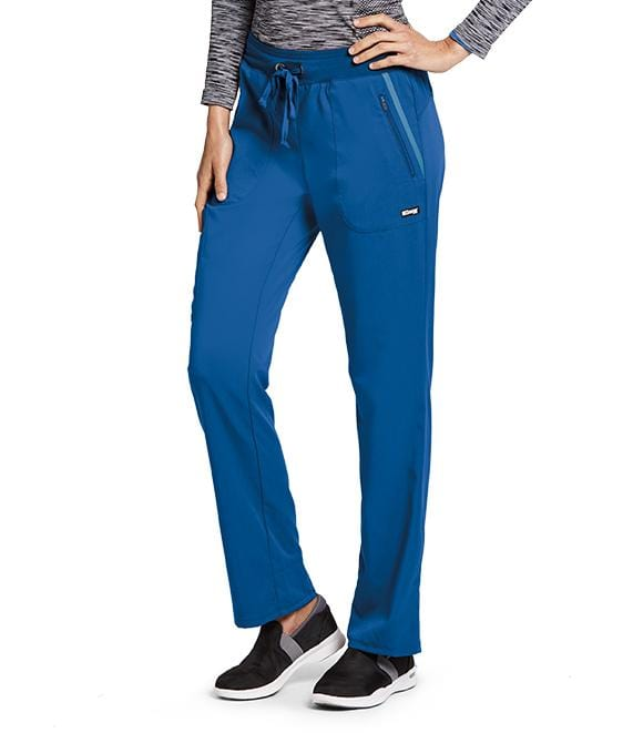 Greys Anatomy Impact Women's 6 Pocket Drawstring Cargo Pant - 7228T Tall - ScrubHaven