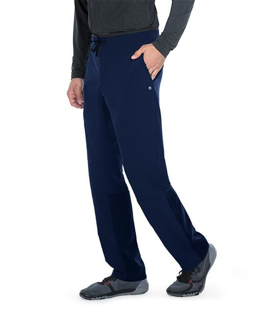Barco Wellness Men's 4 Pocket Drawcord Cargo Welt Pant - BWP508S Short - ScrubHaven