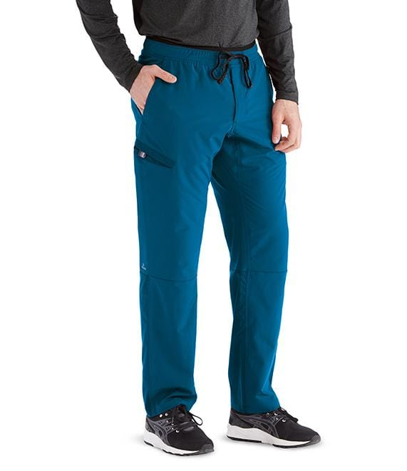 Barco Wellness Men's 4 Pocket Drawcord Cargo Welt Pant - BWP508 - ScrubHaven