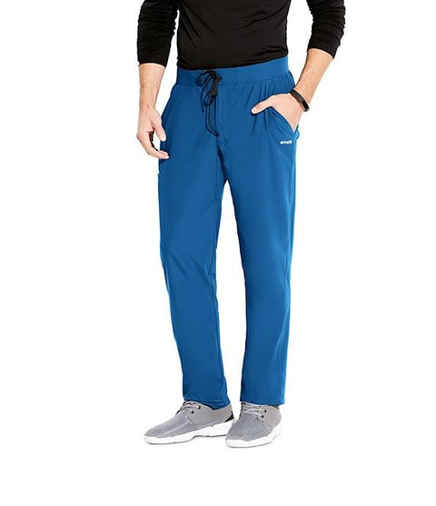 Greys Anatomy Edge Men's 5 Pocket Comfort Waist + Gusset - GEP002X - ScrubHaven