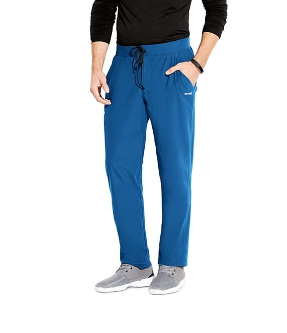 Greys Anatomy Edge Men's 4 Pocket Comfort Waist + Gusset - GEP002T Tall - ScrubHaven