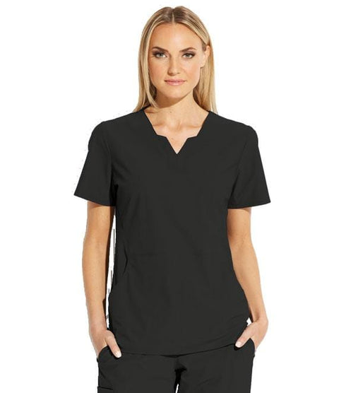Grey's Anatomy Edge Top | Women's 2 Pocket Split V-Neck #GET013