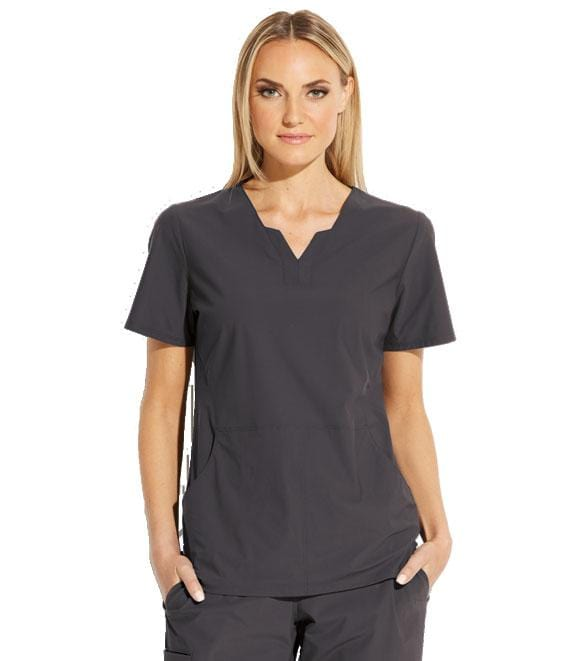Greys Anatomy Edge Women's 2 Pocket Split V-Neck - GET013 - ScrubHaven