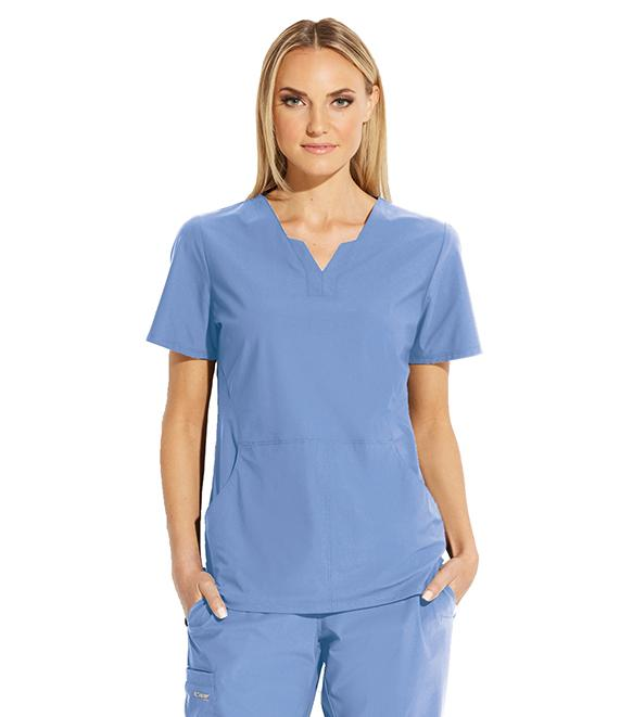 Greys Anatomy Edge Women's 2 Pocket Split V-Neck - GET013X - ScrubHaven