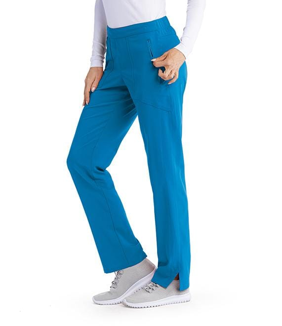 Greys Anatomy Signature Women's 3 Pocket Flat Front Drawstring Pant - GNP502X - ScrubHaven