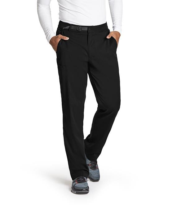 Greys Anatomy Men's 4 Pocket Belt Waist Cargo Pant - GRSP507S - ScrubHaven