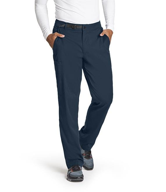 Greys Anatomy Men's 4 Pocket Belt Waist Cargo Pant - GRSP507 - ScrubHaven