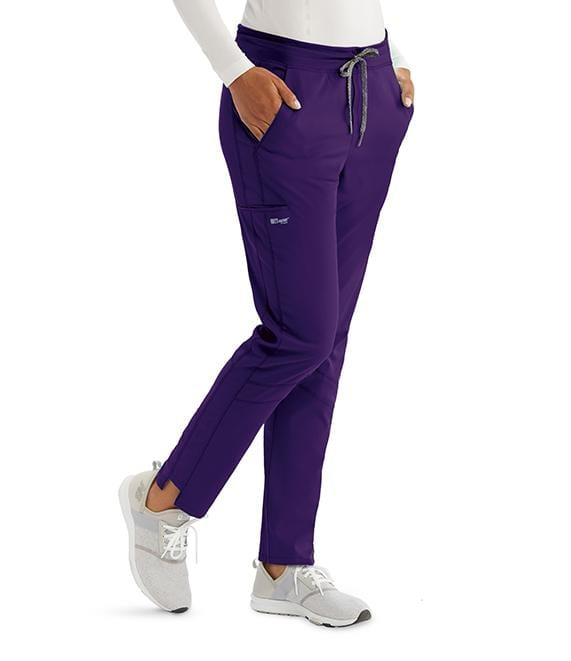 Greys Anatomy Active Women's 3 Pocket Knit Waist Cargo Pant - GVSP509X - ScrubHaven