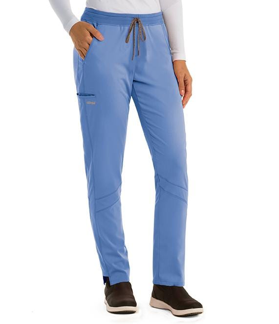 Greys Anatomy Active Women's 3 Pocket Knit Waist Cargo Pant - GVSP509 - ScrubHaven