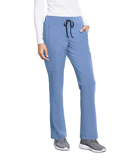 Motion by Barco Women's 4 Pocket Cargo Side Inset Drawcord - MOP001 - ScrubHaven