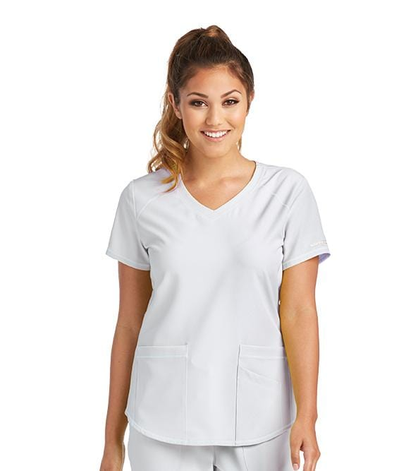 Skechers Women's 3 Pocket Vitality V-Neck - SK101 - ScrubHaven