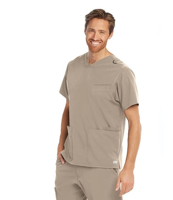 Skechers Men's 5 Pocket Sport V-Neck With Welt - SKT020X - ScrubHaven