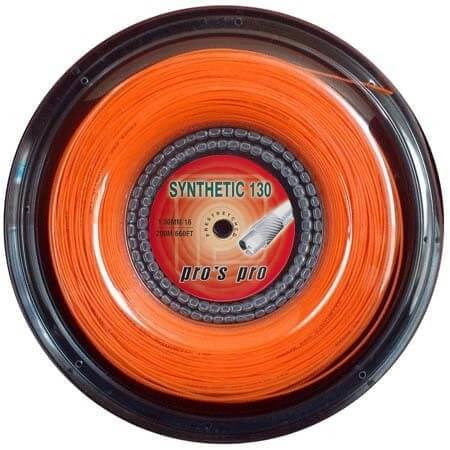 PRO'S PRO Synthetic Orange 200m. Jauge 1.30