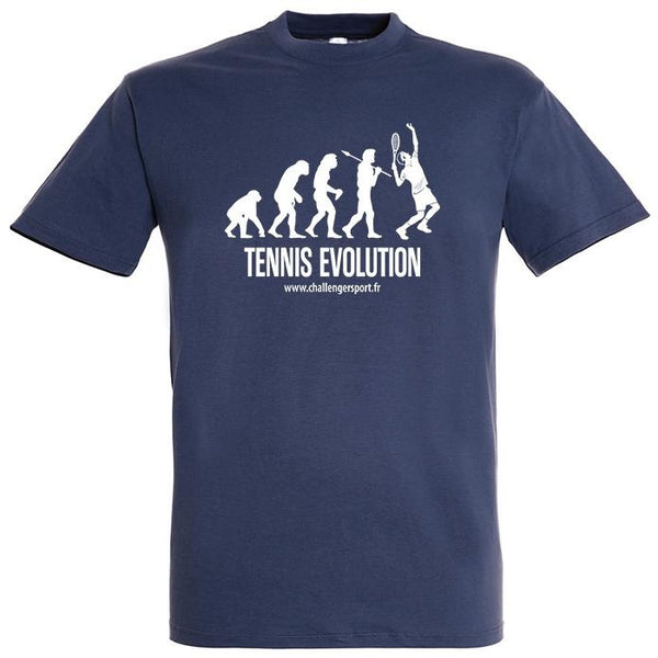 Tee Shirt TENNIS EVOLUTION Denim