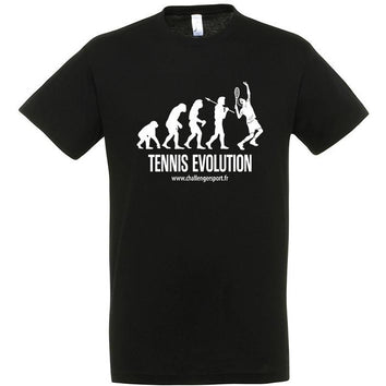 Tee Shirt TENNIS EVOLUTION Noir