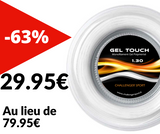 GEL Touch 2019 White 200m. Jauge 1.30