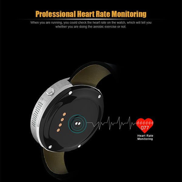 Beseneur DM360 Smart Watch Heart Rate Monitor Pedometer Sports Watches For Android IOS Wearable Devices Smartwatch for Men Women