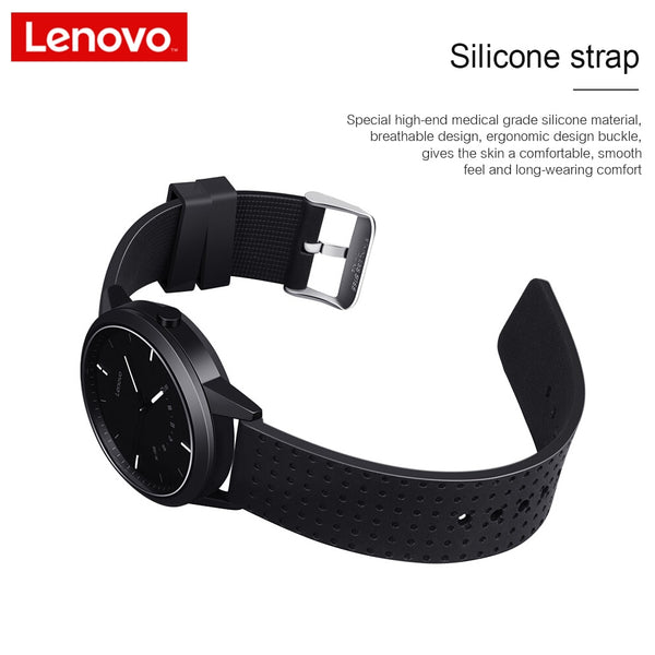 Lenovo Smart Watch Fashion Watch 9 Sapphire Glass Smartwatch 50M Waterproof Heart Rate Monitoring Calls Information Reminding