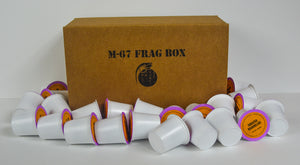 M-67 FRAG BOX (Kcup) - Café Steel Pot