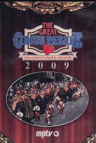 2009 Great Circus Parade DVD - PRICE INCLUDES SHIPPING