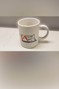 Tracks Ahead Log Mug - PRICE INCLUDES SHIPPING