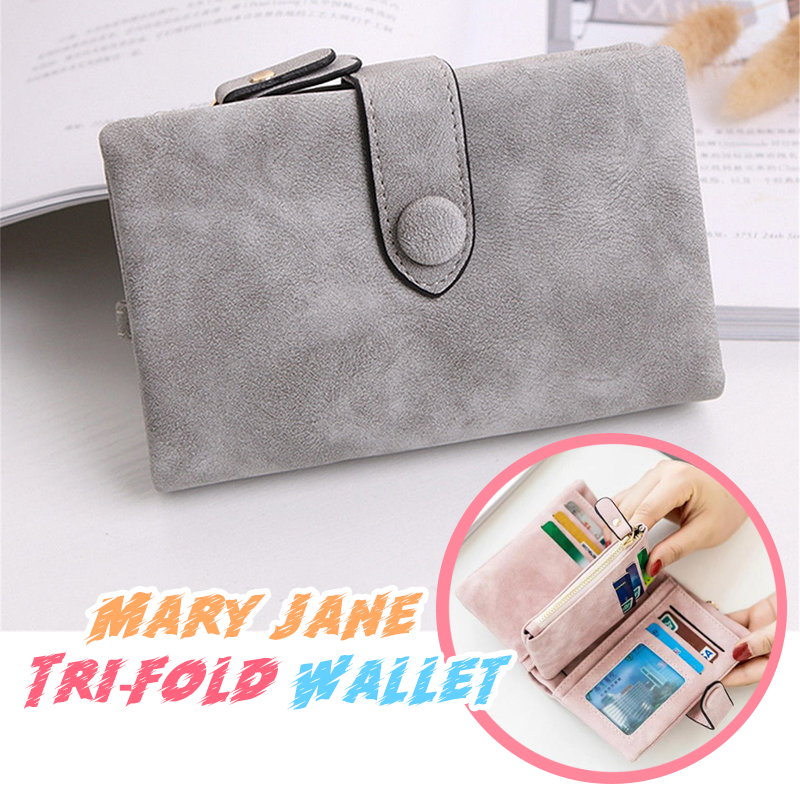 Mary Jane Tri-fold Wallet