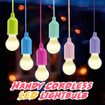 Handy Cordless LED Lightbulb