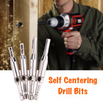 Self Centering Drill Bits (4pcs)