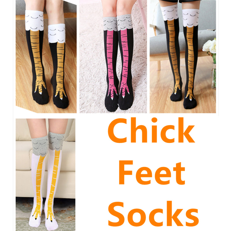 Slim as Chicken Feet Sock