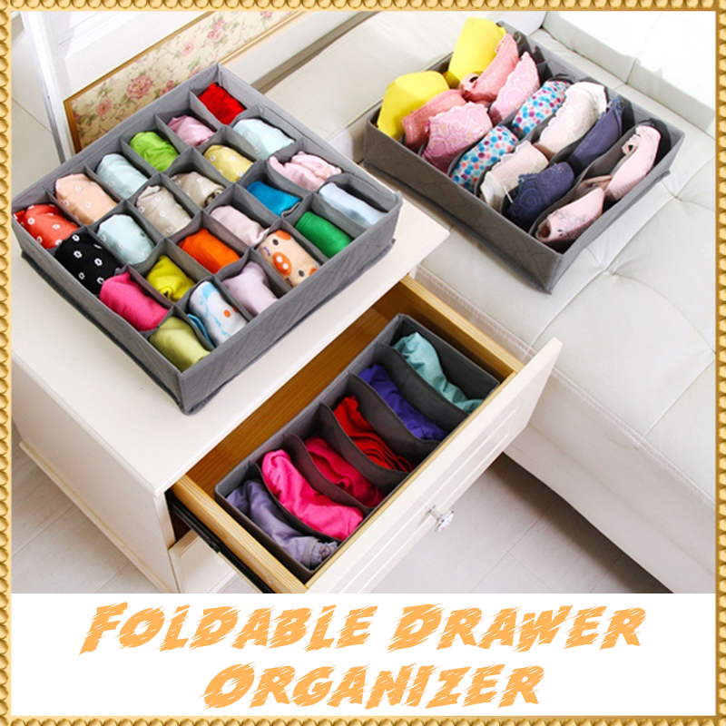 Foldable Drawer Organizer (Set of 3)