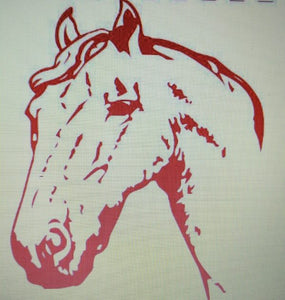 Amanda's Horse Shirt (Only the Brave)