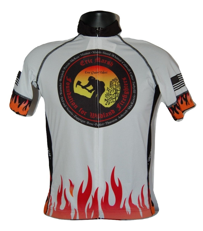 Copy of A20. EMF Logo GMIHC 19 Names Cycling Jersey - Unisex