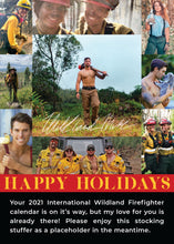Load image into Gallery viewer, R3. Wildland Firefighter 2021 Calendar