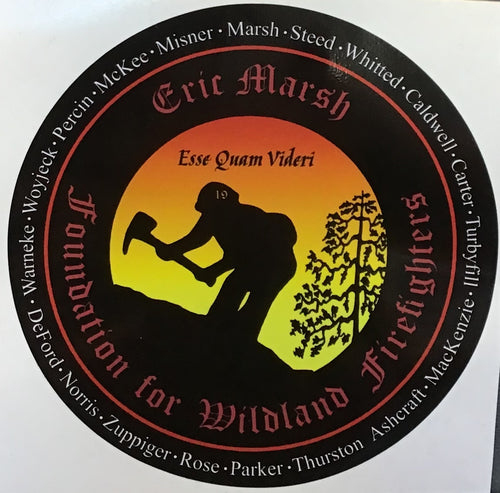 EMF 19 Names Sticker 7""