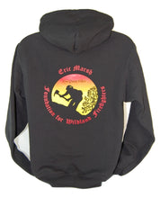 Load image into Gallery viewer, A1.6. Eric Marsh Foundation (EMF) Logo Zip Hoodie