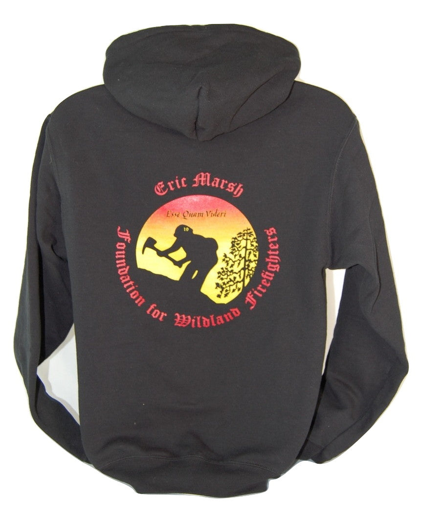 A1.6. Eric Marsh Foundation (EMF) Logo Zip Hoodie