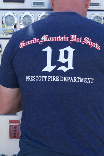 A1.65 Granite Mountain 19 Short Sleeve T-shirt - Unisex