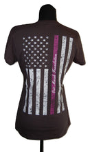 Load image into Gallery viewer, W6. Women's Flag Remembrance Shirt