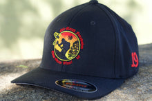 Load image into Gallery viewer, H1.5. EMF Logo Flex Fit Hat Black