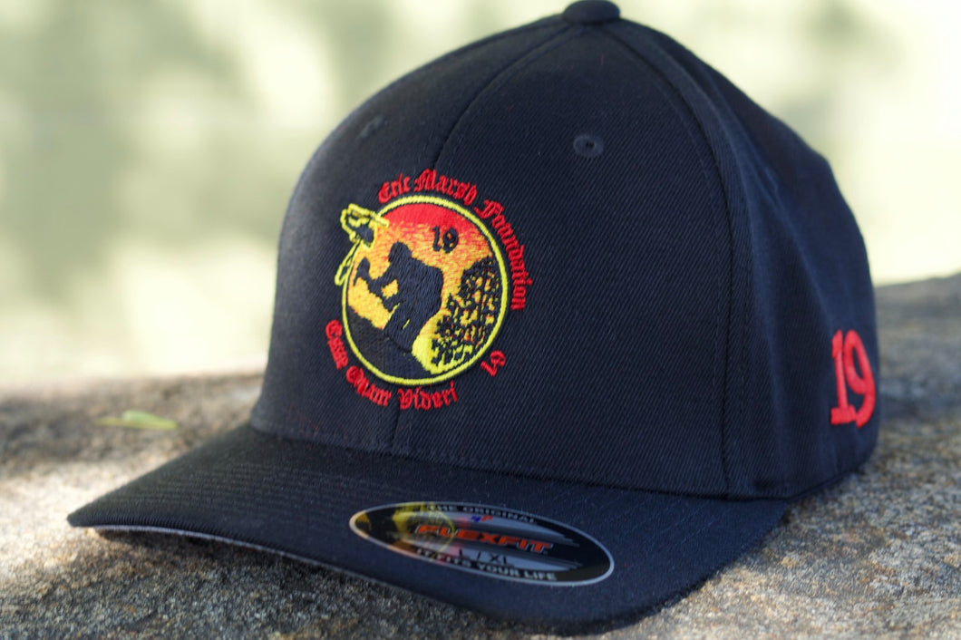H1.5. EMF Logo Flex Fit Hat Black