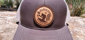H1.6 Limited Edition Leather Patch EMF Snap Back Logo Hat