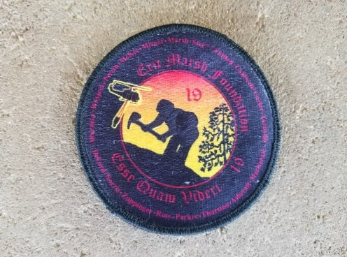 P3. EMF Logo 19 Names Velcro Patch