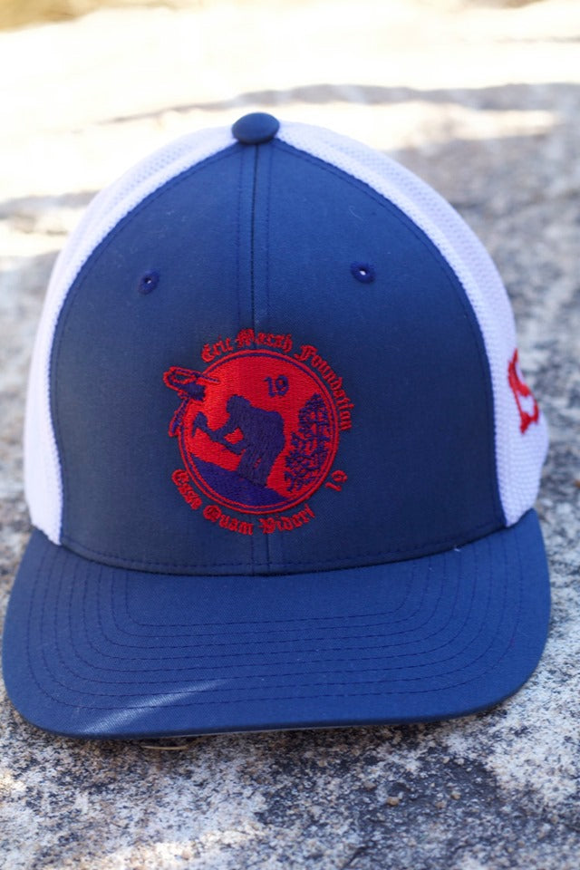 EMF Red, white, and blue Trucker Flex Fit Hat
