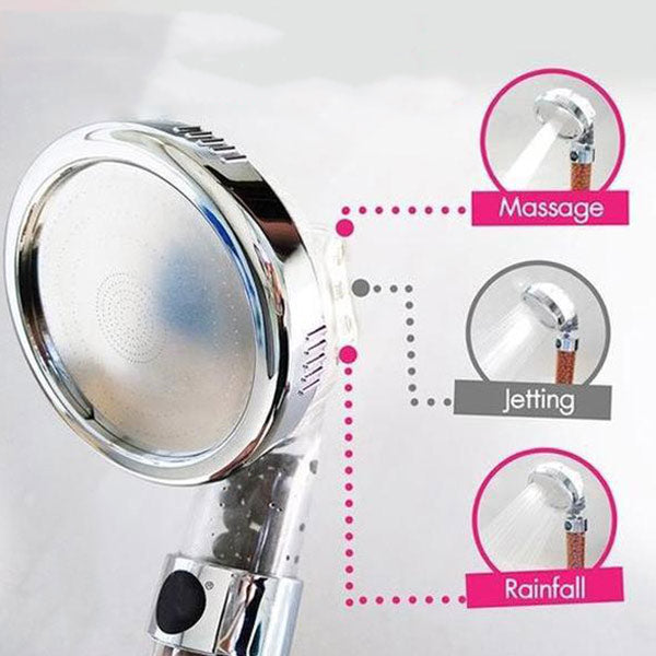 Adjustable Ionic Super Shower Head