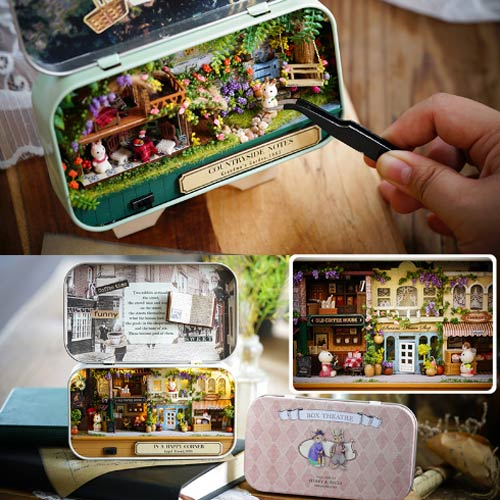 Box Miniatures Doll House (Countryside)